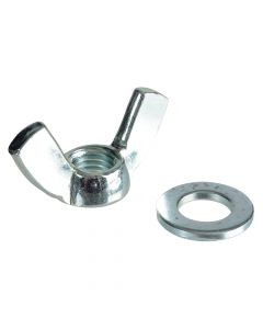 ForgeFix Wing Nut & Washers ZP M12 Forge Pack 4 - FORFPWING12