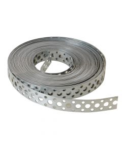 ForgeFix Builder's Galvanised Fixing Band 20mm x 1.0 x 10m Box 1 - FORGB20
