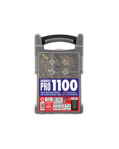 ForgeFix Organiser Pro Multi-Purpose Screws ZYP 1100 Screws - FOROPMPS11Y