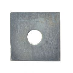 ForgeFix Square Plate Washer ZP 50 x 50 x 12mm Bag 10 - FORSQPL5012M