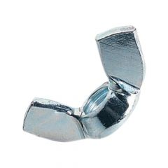 ForgeFix Wing Nut ZP M8 Bag 10 - FORWING8M