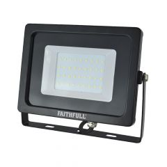 Faithfull SMD LED Wall Mounted Floodlight 30W 2400 Lumens 240V - FPPSLWM30