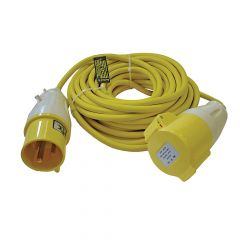Faithfull Trailing Lead 14m 3500W 32 amp 2.5mm Cable 110V - FPPTL1432AMP