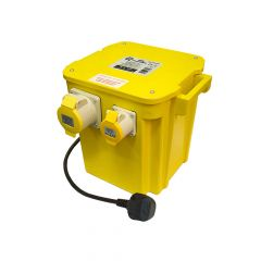 Faithfull 5Kva Triple Outlet Transformer - FPPTRAN5