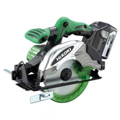 HiKOKI Circular Saw 165mm 18V 2 x 5.0Ah Li-ion - HIKC18DSL