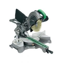 HiKOKI Sliding Compound Mitre Saw & Blade 216mm 1050W 110V - HIKC8FSEBL