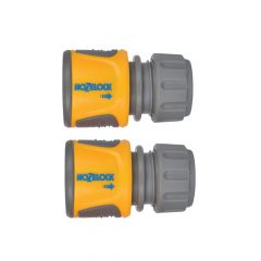 Hozelock Soft Touch Hose End Connector, Pack of 2 - HOZ20706025