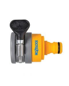 Hozelock Round Mixer Tap Connector Max 24mm Diameter - HOZ2177