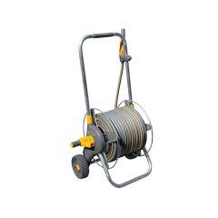 Hozelock 60m Metal Pro Hose Cart & 30m of 12.5mm Hose - HOZ2436