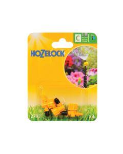 Hozelock Adjustable Micro Jet 90 Degree 4mm/13mm (3 Pack) - HOZ2793