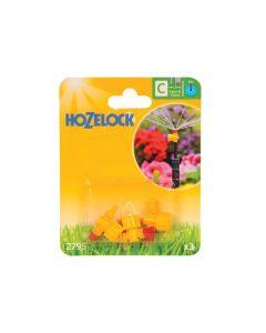 Hozelock Adjustable Micro Jet 360 Degree 4mm/13mm (3 Pack) - HOZ2795