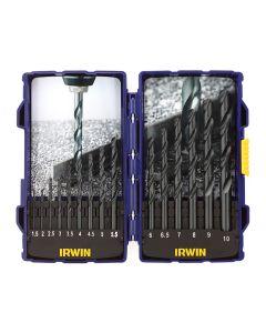 IRWIN HSS Pro Drill Bit Set, 15 Piece - IRW10503989