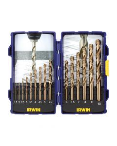 IRWIN HSCO Pro Drill Set 15 Piece 1.5-10mm - IRW10503990