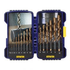 IRWIN Pro Drill Set Turbo Max Set of 15 - IRW10503992