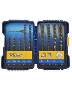 IRWIN Speedhammer Plus Drill Bit Set 9 Piece 5-12mm IRW10507110 - IRW10507110