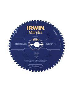 IRWIN Marples Mitre Circular Saw Blade 305 x 30mm x 60T ATB/Neg - IRW1897466