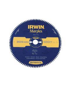 IRWIN Marples Multimaterial Circular Saw Blade 305 x 30mm x 100T TCG/Neg - IRW1897473