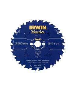 IRWIN Marples Table & Mitre Circular Saw Blade 250 x 30mm x 24T ATB - IRW1897474
