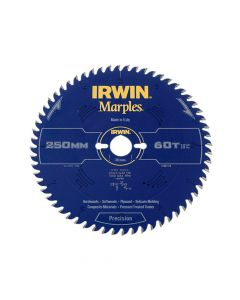 IRWIN Marples Table & Mitre Circular Saw Blade 250 x 30mm x 60T ATB - IRW1897476