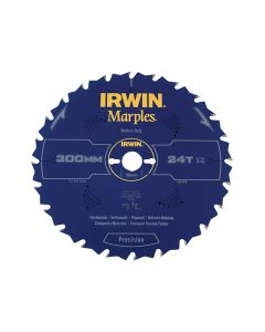 IRWIN Marples Table & Mitre Circular Saw Blade 300 x 30mm x 24T ATB - IRW1897478