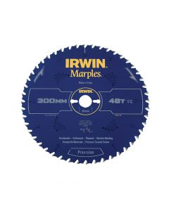 IRWIN Marples Table & Mitre Circular Saw Blade 300 x 30mm x 48T ATB - IRW1897479
