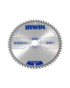 IRWIN General Purpose Table & Mitre Saw Blade 250 x 30mm x 60T ATB - IRW1907700