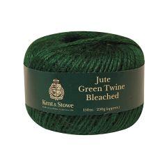 Kent & Stowe Jute Twine Bleached Green 150m (250g) - K/S70100825