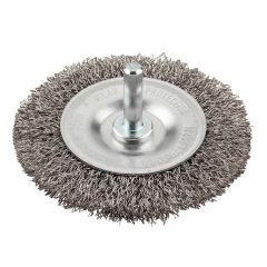 KWB HSS Crimped Wheel Brush 75mm Coarse - KWB607330