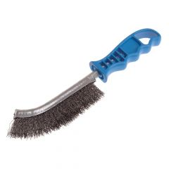 Lessmann Universal Hand Brush 260mm x 28mm 0.3 Crimped Steel Wire - LES056301
