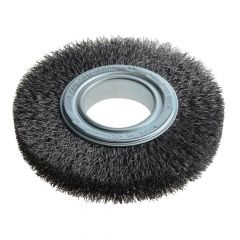 Lessmann Wheel Brush D150mm x W23-25 x 50 Bore Set 3 Steel Wire 0.30 - LES345162