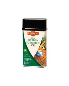 Liberon Garden Furniture Oil Clear 1 Litre - LIBGFOCL1L