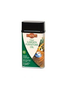 Liberon Garden Furniture Oil Clear 500ml - LIBGFOCL500