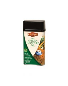 Liberon Garden Furniture Oil Teak 500ml - LIBGFOTE500