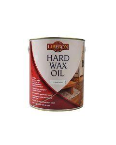 Liberon Hard Wax Oil Clear Satin 2.5 Litre - LIBHWOCS25L