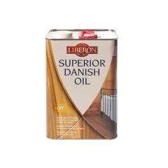 Liberon Superior Danish Oil 5 Litre - LIBSDO5L