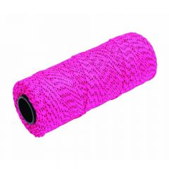 Marshalltown Bonded Mason's Line 500' Pink and Black