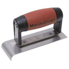"Marshalltown Narrow Edger 2"" x 6"" - Stainless Steel - Durasoft Handle - M513N"