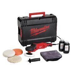 Milwaukee Polisher Set 200mm 1450W 240V - MILAP14ESET