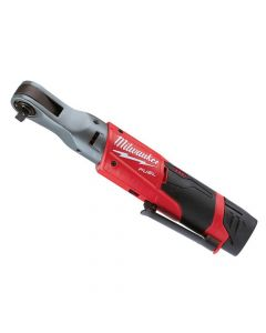 Milwaukee M12 FIR38-2 FUEL Sub Compact 3/8in Impact Ratchet 12V 1 x 2.0Ah Li-ion - MILM12FIR382