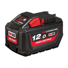 Milwaukee M18 HB12 HIGH OUTPUT Slide Battery Pack 18V 12.0Ah Li-ion - MILM18B12