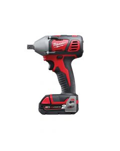 Milwaukee M18 BIW12-202C Compact 1/2in Impact Wrench 18V 2 x 2.0Ah Li-Ion - MILM18BIW122