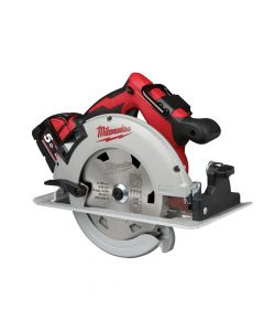 Milwaukee M18 BLCS66-502X Brushless Circular Saw 18V 2 x 5.0Ah Li-ion - MILM18BLCS6X