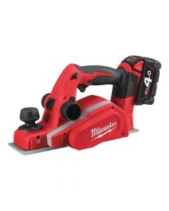 Milwaukee M18 BP-402C Planer 18V 2 x 4.0Ah Li-ion - MILM18BP4