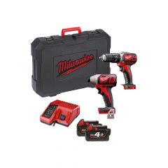 Milwaukee M18 BPP2C-402 Twin Pack 18V 2 x 4.0Ah Li Ion - MILM18BPP2C