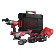 Milwaukee M18 FPP2AA-503X FUEL Twin Pack 3 x 5.0Ah Li-ion - MILM18CAGKIT