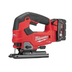 Milwaukee M18 FJS-502X FUEL Top Handle Jigsaw 18V 2 x 5.0Ah Li-ion - MILM18FJSKIT