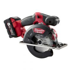 Milwaukee M18 FMCS-502 Fuel Metal Saw 18V 2 x 5.0Ah Li-Ion - MILM18FMCS2