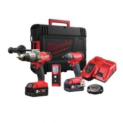 Milwaukee M18 FPDKIT-502 FUEL Triple Pack 18V 2 x 5.0Ah Li-ion - MILM18FPDKIT