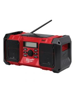 Milwaukee M18 JSRDAB-0 DAB Digital Jobsite Radio 18V Bare Unit - MILM18JSRDAB