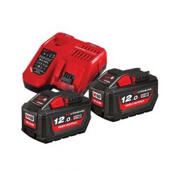 Milwaukee M18 HNRG Battery Twin Pack 18V 12.0Ah - MILM18NRG12